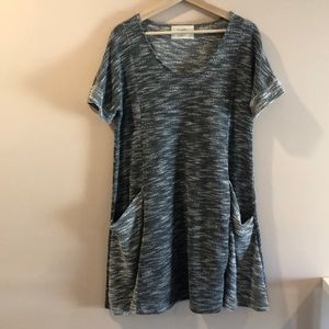 Puebla Knit Tunic/Dress with Pockets